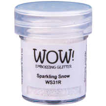 WOW! Sparkling Snow Glitter Embossing Powder - WS31 (R)