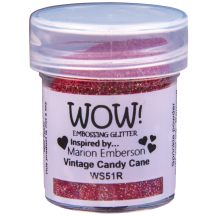 WOW! Vintage Candy Cane Embossing Powder 15ml - Glitter - WS51 (R)