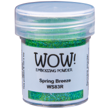 WOW! Spring Breeze Embossing Powder 15ml - Glitter - WS83 (R) Blue