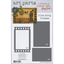 Studio 490 by Wendy Vecchi Art Parts from Stampers Anonymous - Film Strip Frames