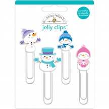 Doodlebug Winter Wonderland Snowman Jelly Clips 6463