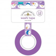 Doodlebug Winter Wonderland Snow Friends Decorative Washi Tape 6436