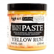 Prima Finnabair Art Extravagance Rust Effect Paste Yellow Rust 964733