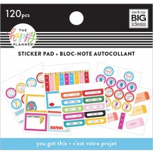 Me & My Big Ideas The Happy Planner Tiny Sticker Pad You Got This Student SP2H20-006
