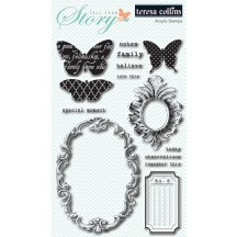 Teresa Collins Tell Your Story Clear Stamp Set - YS1014