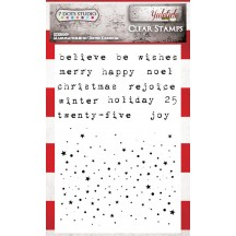 "7 Dots Studio Yuletide 4""x6"" Clear Stamp Set"