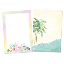 "P13 Summer Vibes 6""x4"" Cardstock Journaling Cards P13-VIB-28"