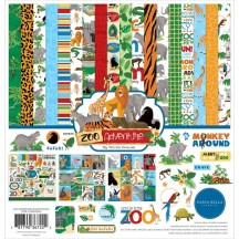 "Carta Bella Zoo Adventure 12""x12"" Collection Kit ZA128016"